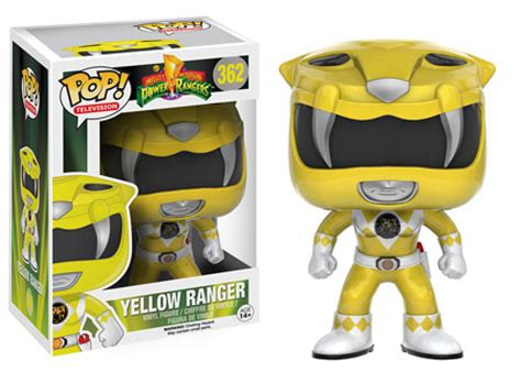 Funko Pop Original New Power Rangers Yellow Ranger power rangers funko pop mighty morphin power rangers