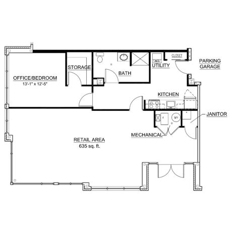 live work floor plans live work floor plan 104 third ward