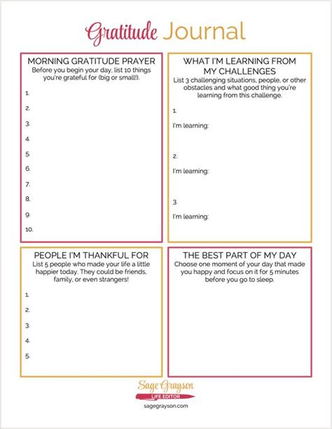 gratitude journal start everyday with gratitude cultivate an attitude of gratitude a guide to cultivate gratitude everyday journal with quotes large size 8 5 x 11 volume 1 books this free printable gratitude journal is an easy way to