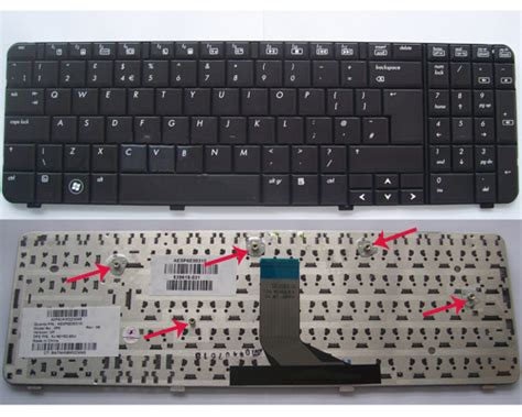 Hp Compaq Presario Cq61 G61 Us Black Keyboard replace hp g61 compaq presario cq61 keyboard