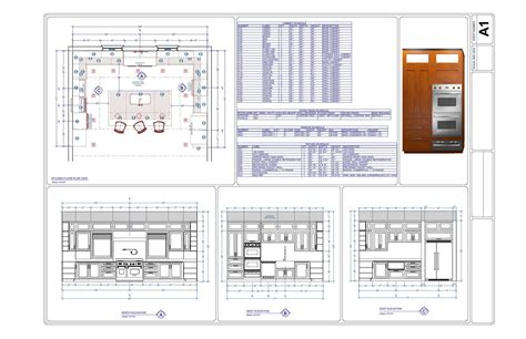 Blueprint Layout For Outdoor L Kitchen   Best Home