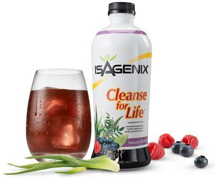 Lifetime Metabolics Detox Liquid by Isagenix Cleanse For Cleanse With Isagenix Save 15
