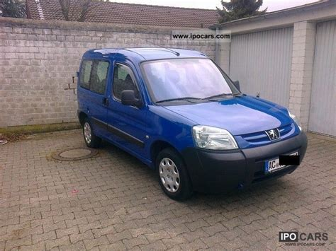 peugeot partner 2006 2006 peugeot partner photos informations articles