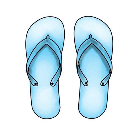 simple    draw flip flops  wikihowcom