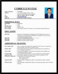 Proper Format For Resume by Proper Resume Format Exles Serversdb Org
