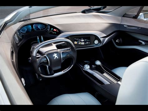 Car Interior by 2010 Peugeot Sr1 Concept Car Interior 1280x960 Wallpaper
