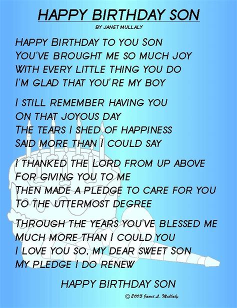 Birthday Quotes For Born 17 Best Son Birthday Quotes On Pinterest Mother Birthday