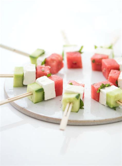 appetizers skewer 15 adorable mini skewer appetizers for your memorial day