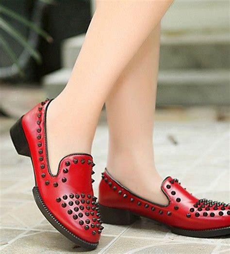 Sepatu Boots Wedges Korean Style korean style low heels shoes black ft0077 fashion shoes low heels low heel