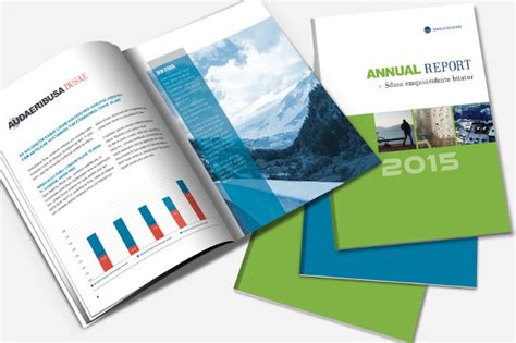 annual report brochure template brochure templates on