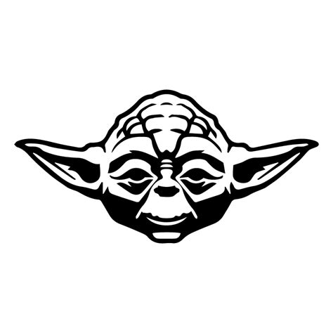 Yoda sticker 163 1 99 blunt one affordable bespoke vinyl signs and graphics