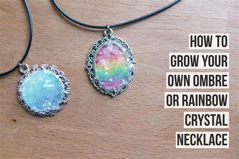 how can i make my own jewelry how to grow your own necklace magical daydream
