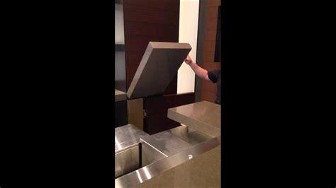 swinging bar counter top youtube