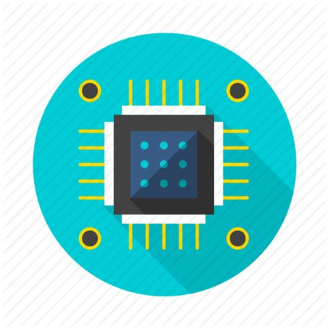 integrated circuit icon chip circuit ic integratedcircuit microchip