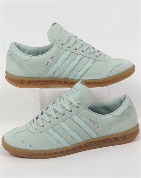 adidas hamburg trainers vapour green originals shoes mens sneakers