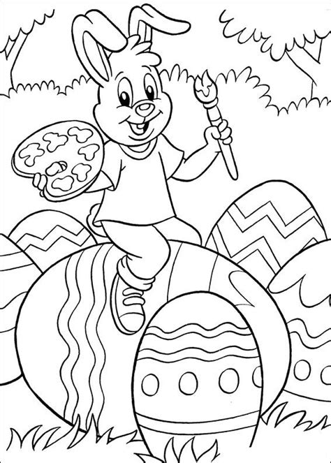 easter coloring pages for 10 year olds kleurplaat animaatjes pasen 00254