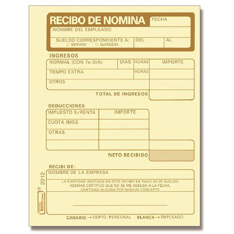 recibos de pago de nomina del gobierno de la ciudad de mexico recibo de nomina ofimart art 237 culos de papeler 237 a
