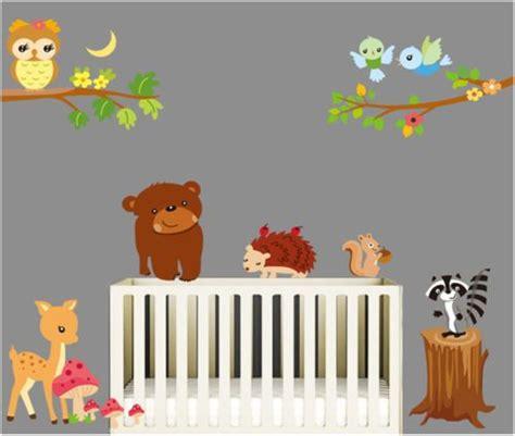 Wandtattoo Kinderzimmer Waldtiere by Details Zu Wandtattoo Wandsticker Aufkleber Waldtiere Eule