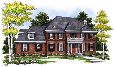 2 story brick house plans 2 story brick home plan 89450ah 1st floor master suite