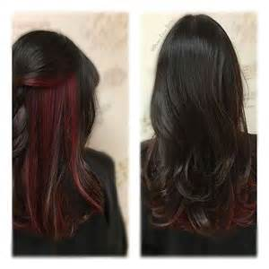 25 best ideas about highlights underneath on 25 best ideas about hidden hair color on pinterest