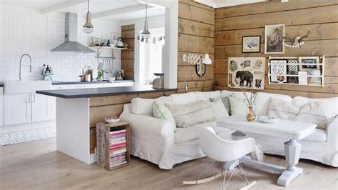 am駭agement cuisine ouverte salon une maison douillette pour affronter le froid nordique