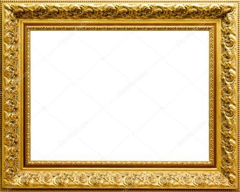 cuadros y fotos hermoso marco dorado para cuadros y fotos foto de stock