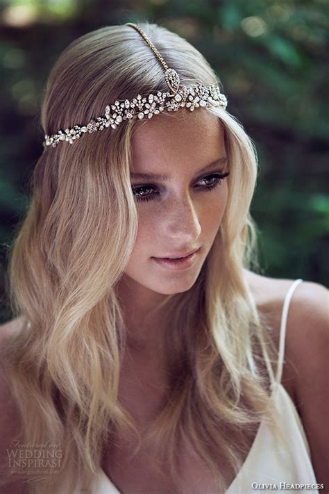 hairstyles with haedband accessories video olivia headpieces w label bridal hair accessories