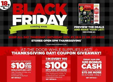 jcpenney printable coupons black friday 2015 jcpenney black friday ad 2015 deals hours ad scans