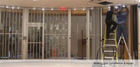 rolling gate repair installation in staten island