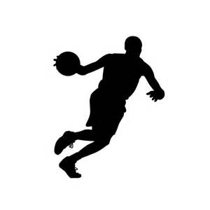 basketball silhouette size basketball silhouette decals basketball decor