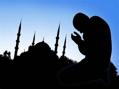 background muslim muslim praying backgrounds ppt backgrounds templates