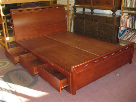 captain bed queen uhuru furniture collectibles sold queen captain s bed