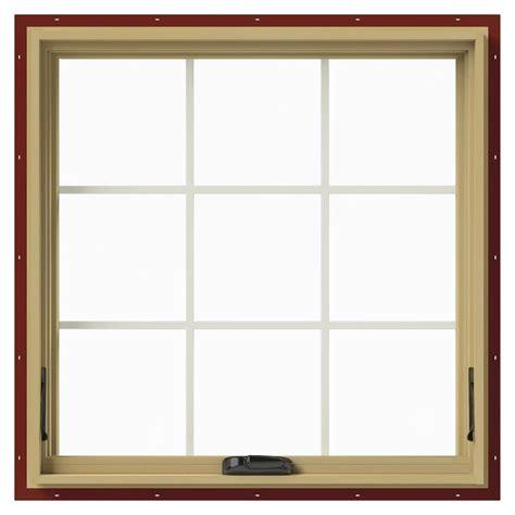 jeld wen awning windows jeld wen 36 in x 36 in w 2500 awning aluminum clad wood