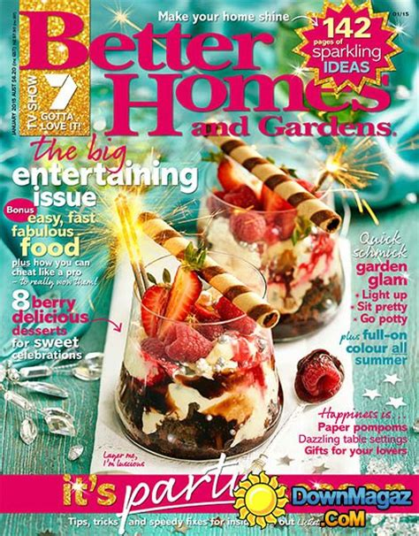 better homes and gardens australia january 2015