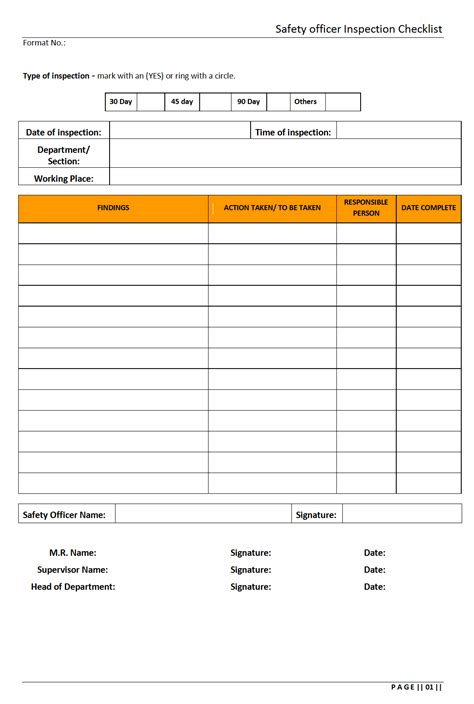 annual health and safety report template form annual health and safety report template how to write