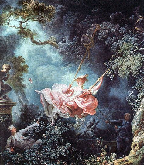 the girl in the swing the swing by jean honor 233 fragonard my daily art display