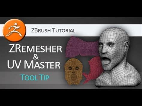 zbrush apply pattern zbrush tutorial on using zremesher and uv master youtube