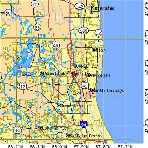 gurnee mills map gurnee illinois map swimnova