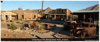 visit arizona ghost towns
