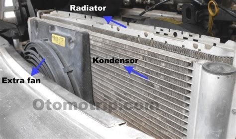 Otomatis Kipas Radiator Avanza mesin cepat panas saat ac mobil hidup jika fan mati