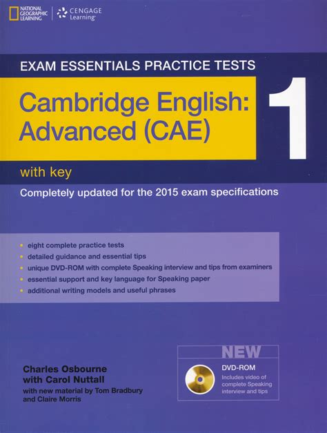 practice tests for cambridge exam essentials practice tests cambridge english advanced cae 1 with key and dvd rom
