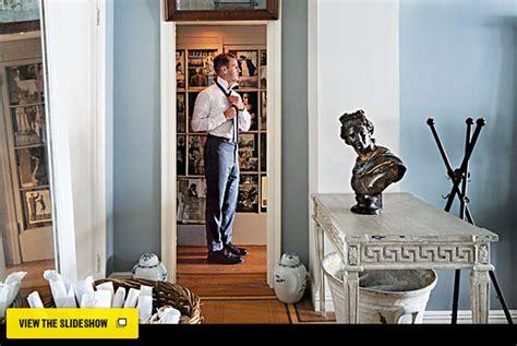 antique dealer david biscayes studio cum showroom home