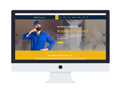 Et Plumbing Free Responsive Plumbing Website Template Responsive Fashion Website Templates Free