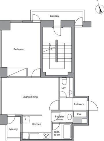 Gw 122 F By Gifty House レジディアタワー麻布十番 間取り一覧 residia