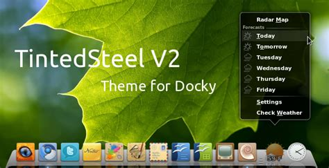 gnome docky themes top 10 docky themes gnome do dock tux machines