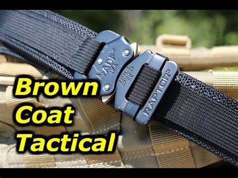 brown coat tactical s edc belt exceptional quality