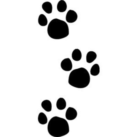 the ideas about paw print clip art on dog paw