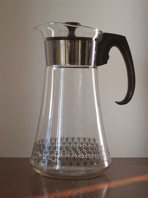 Coffee Decanter vintage pyrex coffee pot carafe made in usa carafe