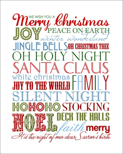 15 christmas font printables images free printable 15 christmas free printables how to nest for less