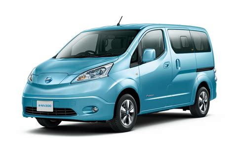nissan japan nissan e nv200 on sale in japan starting this october